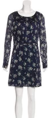 See by Chloe Silk-Blend Mini Dress