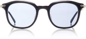 Matsuda Eyewear Exclusive Acetate Square-Frame Sunglasses
