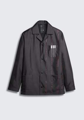 Alexander Wang ADIDAS ORIGINALS BY AW COACH'S JACKET JACKETS AND OUTERWEAR