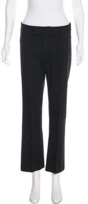 Smythe Mid-Rise Straight-Leg Pants