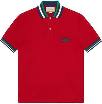 Gucci Polo with patch