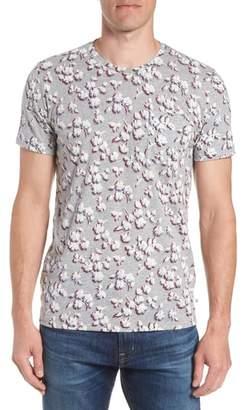 Bonobos Slim Fit Floral Pocket T-Shirt