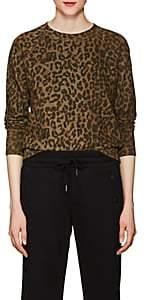 NSF Women's Saguro Leopard-Print Cotton Sweatshirt