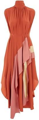 Roksanda Corail Waterfall Gown