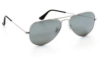 89189cb87c5 Ray-Ban RB3025 Mirrored Original Aviator Sunglasses