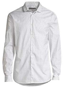 John Varvatos Pinstripe Button Down Shirt