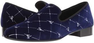 Giuseppe Zanotti Cut Velvet Loafer Men's Shoes