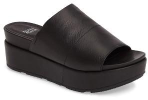 Women's Eileen Fisher Briggs Platform Slide Sandal $255 thestylecure.com