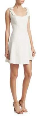 Cinq à Sept Jeanette Tie Shoulder Flare Dress