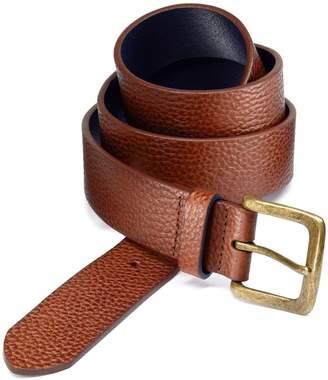 Charles Tyrwhitt Tan Pebbled Leather Belt Size 30-32