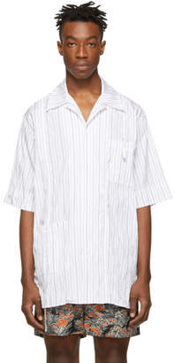 3.1 Phillip Lim White Oversized Souvenir Tunic Shirt
