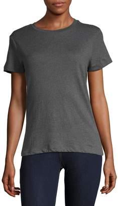 Design Lab Organic Cotton Crew Neck T-Shirt