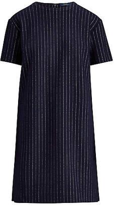 Polo Ralph Lauren (ポロ ラルフ ローレン) - [POLO RALPH LAUREN(ウィメンズ)] チョークストライプ シフト ドレス