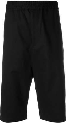 Neil Barrett tailored track shorts