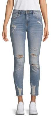 Vigoss Marley Cropped Ripped Jeans