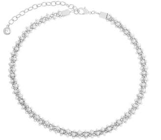 Gloria Vanderbilt Womens White Collar Necklace
