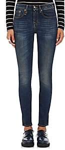 Women's Jenny Mid Rise Skinny Jeans - Dk. Blue Size 24
