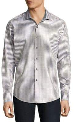 Robert Graham Marion Cotton Casual Button-Down Shirt