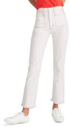 Madewell Rigid Demi Bootcut Crop Jeans