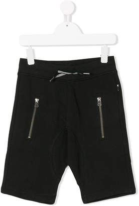 Molo zip-detailed track shorts
