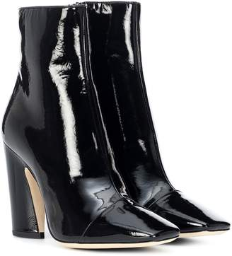 Jimmy Choo Mirren 100 leather ankle boots