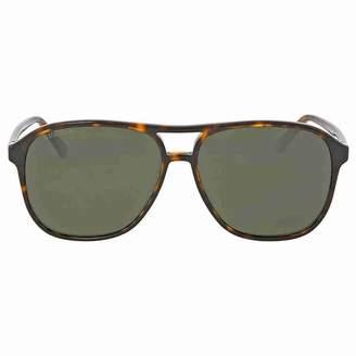 Gucci Men's Polarized GG0016S-007-58 Aviator Sunglasses
