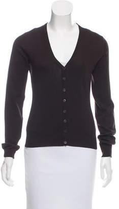 Dolce & Gabbana Long Sleeve Knit Cardigan