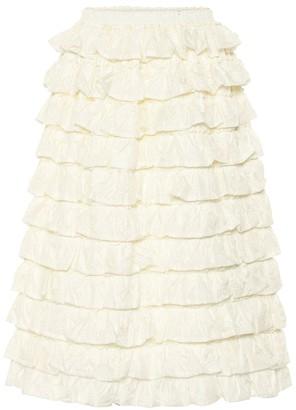 Simone Rocha Moncler Genius 4 MONCLER ruffled skirt