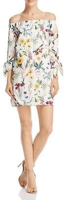 Bailey 44 Botanical Off-the-Shoulder Dress
