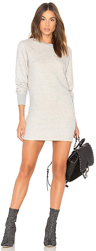 Spiritual Gangster Heart Sweatshirt Dress