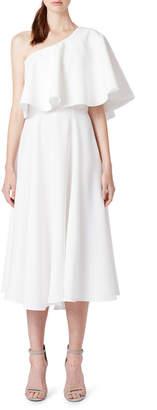 Angel Shape One Shoulder Dress