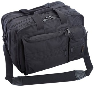 A.Saks Expandable Multi-Pocket Organizer Briefcase