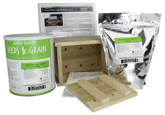 Handy Pantry Organic Tofu Maker Kit - Wood Mold / Press - 5 Lbs. Yellow Soybeans, More - Everything to Make Fresh Tofu