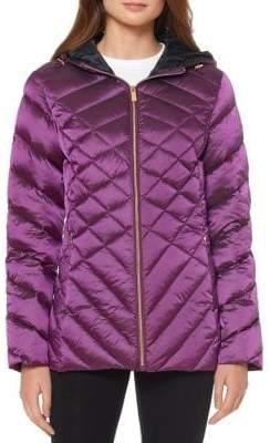 Ellen Tracy Lightweight Packable Down Jacket