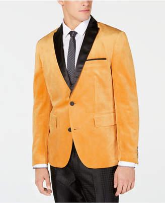 INC International Concepts I.n.c. Men Slim-Fit Velvet Blazer