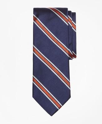 Brooks Brothers Textured Wide Split Stripe Tie