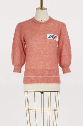 Stella Jean Maglia Girocollo mohair sweater