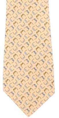 Salvatore Ferragamo Sunglasses Print Silk Tie