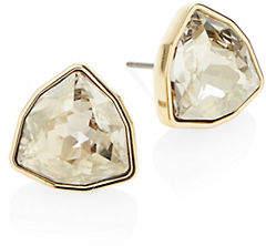 Swarovski Grey Crystal Stud Earrings