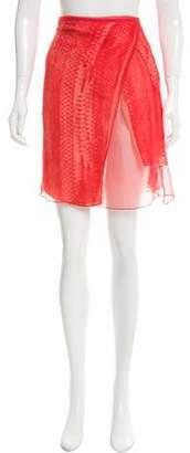 Reed Krakoff Printed Knee-Length Skirt w/ Tags