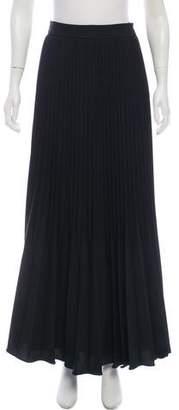 Manoush Pleated Maxi Skirt