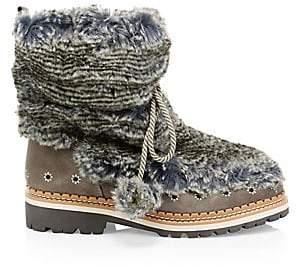 Sam Edelman Women's Blanche Faux Fur Boots