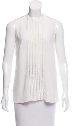 Akris Punto Sleeveless Silk Top
