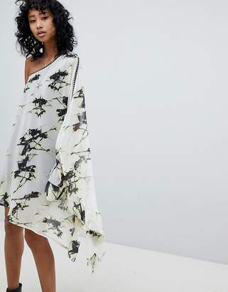 Religion Impact Dress In Shatter Print