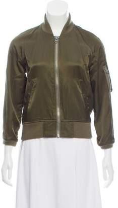 Nlst Zip-Up Bomber Jacket