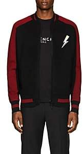 Givenchy Men's Wool Zip-Front Cardigan - Black