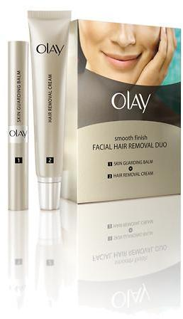 Olay Smooth Finish Facial Hair Remover Duo, Fine to Medium Hair
