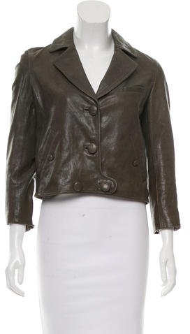 3.1 Phillip Lim 3.1 Phillip Lim Notch-Lapel Leather Jacket