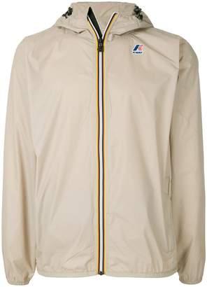 K-Way contrast zip jacket