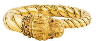 Dragon Optical Bracelet 22K Ruby Bangle